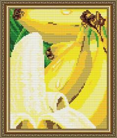 Набор для выкладки алмазной мозаикой Банан, , 280.00грн., АТ5572, Art Solo, Натюрморты