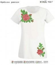 Детская футболка для вышивки бисером Размер L Юма ФДД 7  рр L