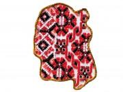 Набор - магнит для вышивки бисером Карта Украины Житомирская область