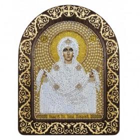 Набор для вышивки икон в рамке-киоте Покров Пресвятой Богородицы