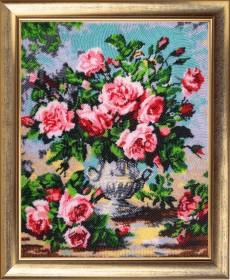 Набор для вышивки бисером Аромат роз