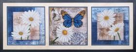 Набор для вышивки бисером Цветы любви (Триптих), , 886.00грн., Б-038 МК, Магия канвы, Картины из нескольких частей