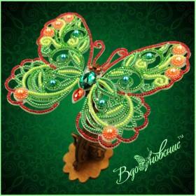 Набор для вышивки бисером Ажурная бабочка 3D 085 Вдохновение BGP-085 - 169.00грн.