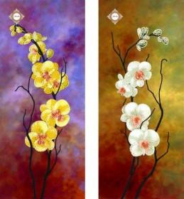 Схема для вышивки бисером на атласе Танцующие орхидеи Диптих Миледи СЛТ-2207 - 132.00грн.