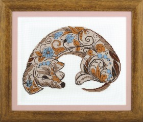 Набор для вышивки крестиком Чары орнамента, , 180.00грн., ВТ-208, Cristal Art, Животные