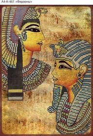Схема для вышивки бисером на габардине Фараоны Acorns А4-К-461 - 45.00грн.