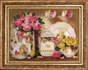 Набор вышивки бисером Чайный сервиз