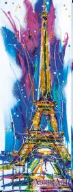 Набор для вышивки бисером на холсте Эйфелева башня