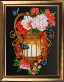 Набор для вышивки бисером Фонарь с пионами Баттерфляй (Butterfly) 129Б - 351.00грн.