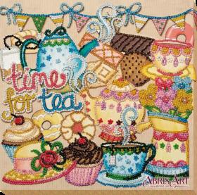 Набор для вышивки бисером на холсте Безумное чаепитие Абрис Арт АМВ-055 - 210.00грн.