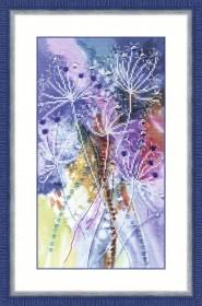 Набор для частичной вышивки крестом Травинки, , 355.00грн., РК-108, Чарiвна мить (Чаривна мить), Цветы