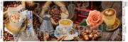 Схема вышивки бисером на атласе Панно Кофейня