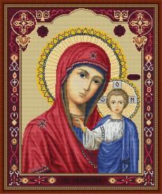 Набор для вышивки крестом Казанская Божья Матерь Luca-S В446 - 403.00грн.