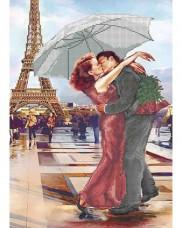 Схема для вышивки бисером Французский поцелуй Акорнс А3-К-575