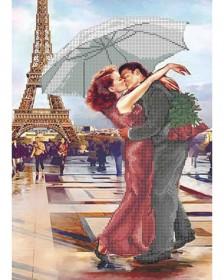 Схема для вышивки бисером Французский поцелуй Акорнс А3-К-575 - 70.00грн.