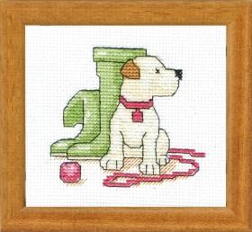 Набор для вышивки крестом К прогулке готов! Cristal Art ВТ-038 - 48.00грн.
