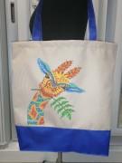 Эко сумка для вышивки бисером Мальвина 5