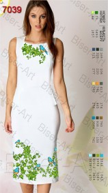 Заготовка женского льняного платья для вышивки бисером Biser-Art Bis7039 - 400.00грн.