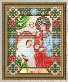 Набор для выкладки алмазной мозаикой Богородица Целительница Art Solo АТ5018 - 248.00грн.