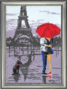 Набор для вышивки бисером Париж для двоих