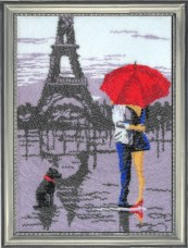Набор для вышивки бисером Париж для двоих Баттерфляй (Butterfly) 481Б