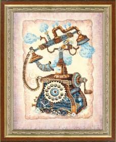 Набор для вышивания в смешанной технике  Ожидание звонка Чарiвна мить (Чаривна мить) РК-085 - 362.00грн.