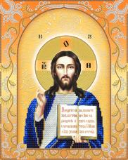 Схема для вышивки бисером на атласе Господь Вседержитель (золото) А-строчка Ас3-028
