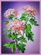 Набор для вышивки бисером Хризантемы