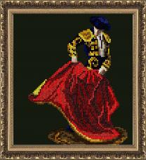 Набор для вышивки ювелирным бисером Огненный танец Краса и творчiсть 30614