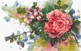 Набор для вышивки крестом Красные розы Luca-S В2383 - 660.00грн.