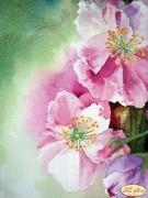 Рисунок на ткани для вышивки бисером Весенний поцелуй