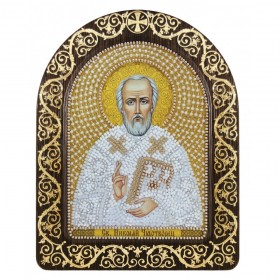 Набор для вышивки икон в рамке-киоте Св. Николай Чудотворец