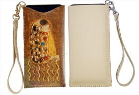 Чехол для телефона для вышивки бисером Поцелуй по Г. Климту Баттерфляй (Butterfly) LB 065 - 280.00грн.