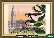 Рисунок на ткани для вышивки бисером В Лондон