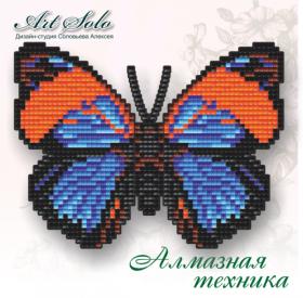 Набор-магнит для выкладки алмазной мозаикой Дикий нарцисс (Agrias narcissus) Art Solo БАТ05 - 110.00грн.