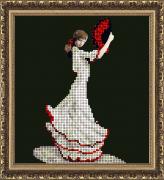 Набор для вышивки ювелирным бисером Танец страсти