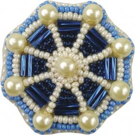 Набор для изготовления броши Штурвал Cristal Art БП-207 - 86.00грн.