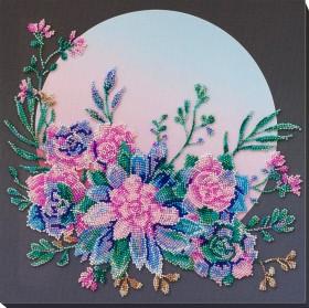 Набор для вышивки бисером Лунные цветы