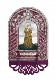 Набор для вышивки иконы с рамкой-киотом Св. Матрона Московская Новая Слобода (Нова слобода) ВК1022 - 205.00грн.