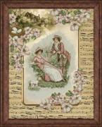 Набор для вышивки крестом Деревенские истории 2