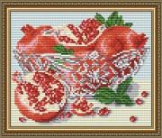 Набор для выкладки алмазной мозаикой В хрустале. Гранаты