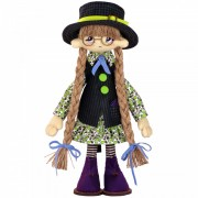 Набор для шитья интерьерной каркасной куклы Паулина