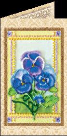 Набор - открытка для вышивки бисером Фиалки Абрис Арт АО-118 - 68.00грн.