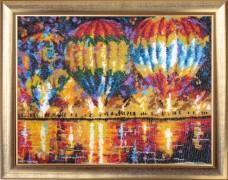 Набор для вышивки бисером Воздушные шары Баттерфляй (Butterfly) 334Б