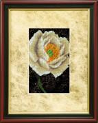 Набор для вышивки ювелирным бисером Пион