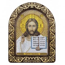 Набор для вышивки икон в рамке-киоте Христос Спаситель Новая Слобода (Нова слобода) СН5001-У - 342.00грн.