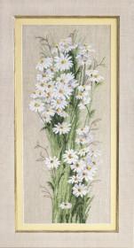 Набор для вышивки крестиком Полевые ромашки, , 428.00грн., М-278, Чарiвна мить (Чаривна мить), Цветы