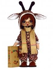 Набор для шитья куклы Премудрый Жираф Zoosapiens К1088Z