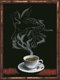 Набор для вышивки крестом Кофейная фантазия. Козерог 1 Краса и творчiсть 30313 - 229.00грн.