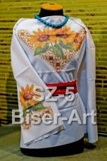 Заготовка для вышивки бисером Сорочка женская Biser-Art Сорочка жіноча SZ-5 (габардин)